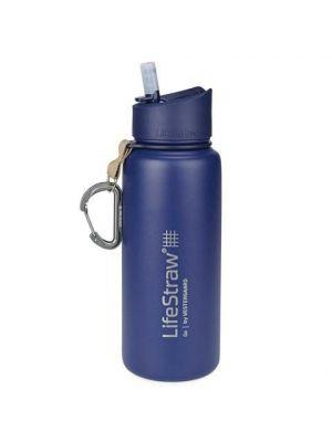 LIFESTRAW Filtr Bidon LIFESTRAW GO STAINLESS STEEL 0,7 l  Blue