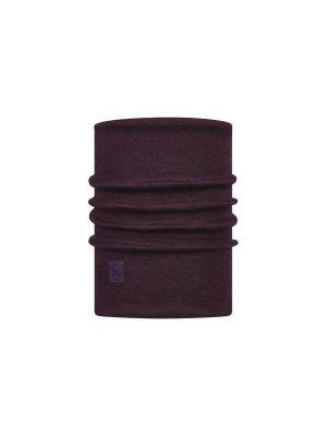 BUFF Komin HEAVYWEIGHT MERINO WOOL solid deep purple