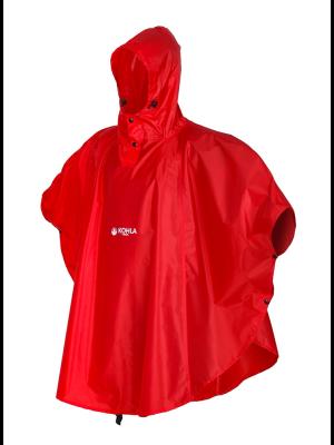 KOHLA Poncho RAIN PONCHO flame scarlet