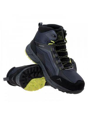 ELBRUS Buty trekkingowe męskie EMBAWA MID WP dark grey/black/lime