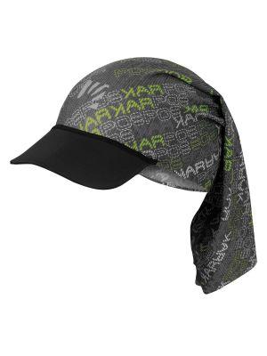 KARPOS Czapka LONGERES CAP black green dark grey
