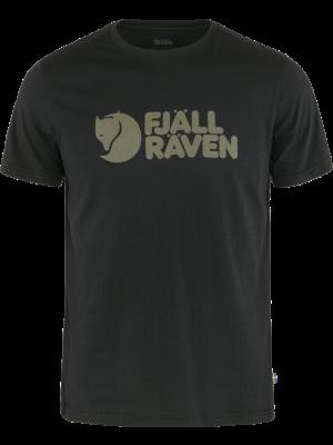 FJALLRAVEN Koszulka męska FJALLRAVEN LOGO T-SHIRT black
