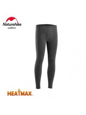 NATUREHIKE Legginsy termoaktywne męskie HEATMAX grey