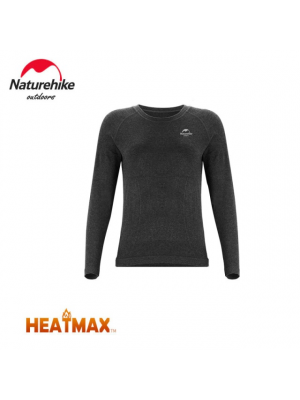 NATUREHIKE Koszulka termoaktywna damska HEATMAX grey