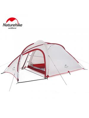 NATUREHIKE Namiot HIBY 3P 20D grey-red