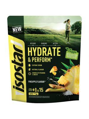 ISOSTAR Koncentrat HYDRATE & PERFORM 450 g ananas