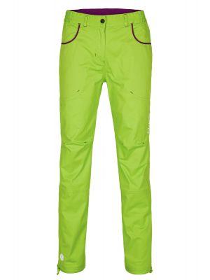 MILO Spodnie wspinaczkowe damskie JESEL LADY lime green