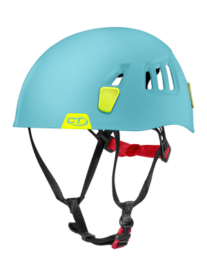 Climbing Technology Kask wspinaczkowy MOON light blue/lime