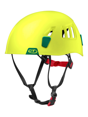 Climbing Technology Kask wspinaczkowy MOON lime/green