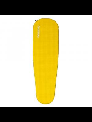 NATUREHIKE Mata samopompująca C035 MUMMY SELF INFLATE UL yellow L