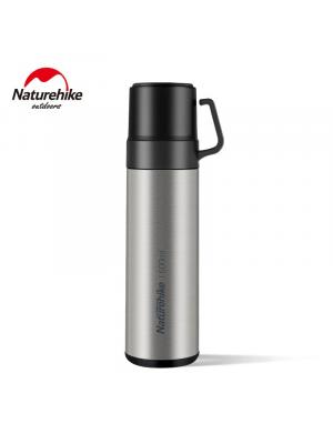 NATUREHIKE Termos VACUUM CUP 600 ml silver