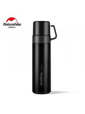 NATUREHIKE Termos VACUUM CUP 600 ml black