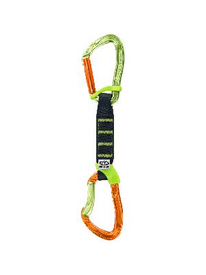 CLIMBING TECHNOLOGY Zestaw ekspresów NIMBLE FIXBAR SET NY PRO 12 cm x 6 orange-green
