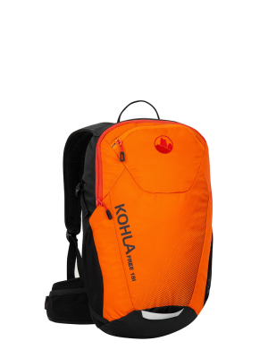 KOHLA Plecak FREE 18 red orange/flame scarlet