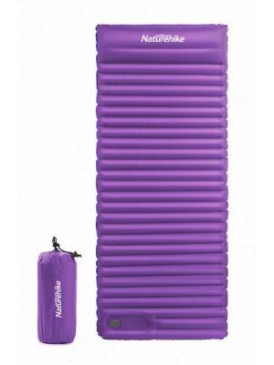 NATUREHIKE Materac z poduszką C001 SQUARE TPU MATTRESS purple L