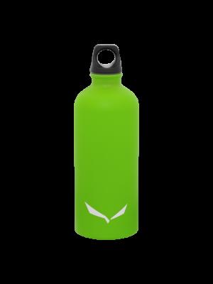 SALEWA Butelka ISARCO LIGHTWEIGHT STAINLESS STEEL BOTTLE 0,6 L fluo green