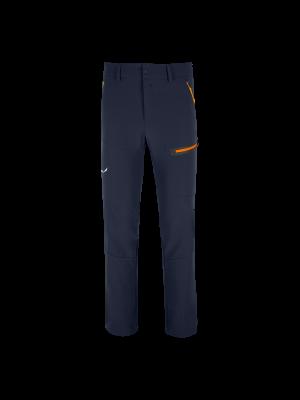 SALEWA Spodnie softshellowe męskie TERMINAL DST PANT navy blazer