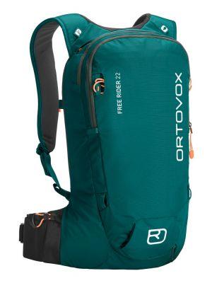 ORTOVOX Plecak skiturowy FREE RIDER 22 pacific green