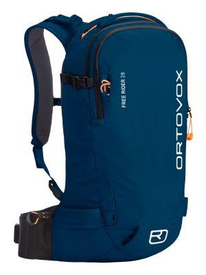 ORTOVOX Plecak skiturowy FREE RIDER 28 petrol blue