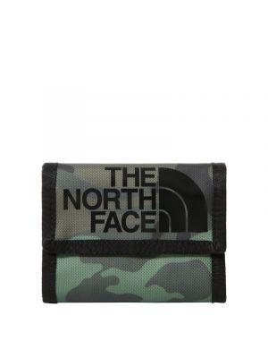 THE NORTH FACE Portfel BASE CAMP WALLET thyme brushwood camo print/tnf black