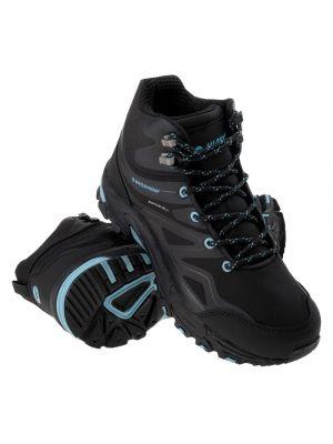 HI-TEC Buty trekkingowe damskie HENDON MID WP WO'S black/sky blue