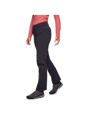 BLACK DIAMOND Spodnie damskie STORMLINE STRETCH RAIN PANTS black