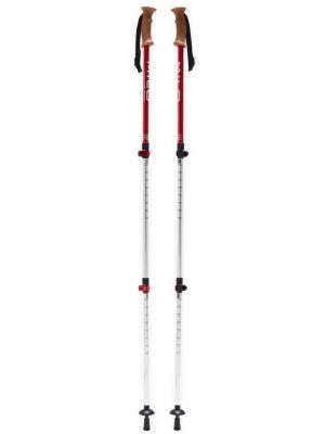 MILO Kije trekkingowe CRUISE TT CORK 67-135 cm red