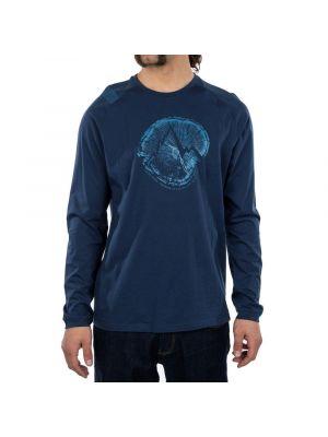 LA SPORTIVA Koszulka męska CROSS SECTION LONG SLEEVE night blue