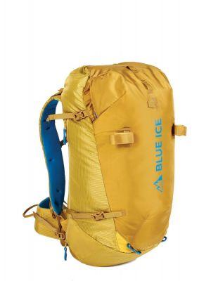 BLUE ICE Plecak skiturowy KUME PACK 38 L super lemon