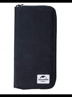 NATUREHIKE Portfel podróżny ZT07 XPAC PASSPORT WALLET black