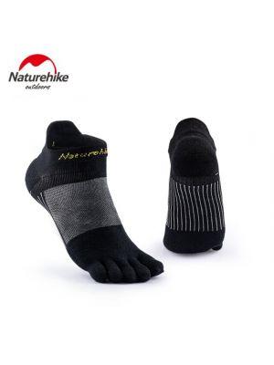 NATUREHIKE Skarpety do biegania RUNNING TOE SOCKS black