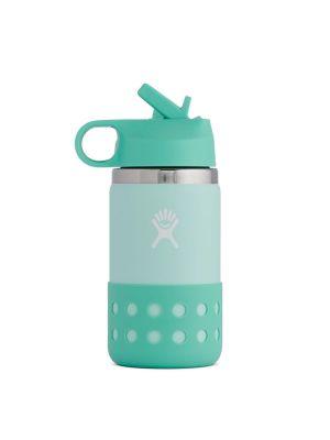 HYDRO FLASK Butelka dziecięca KIDS WIDE MOUTH STRAW LID & BOOT 355 ml paradise