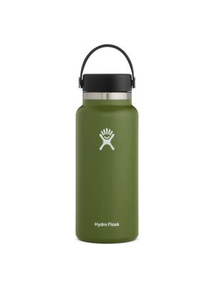 HYDRO FLASK Butelka WIDE FLEX CAP 946 ml olive