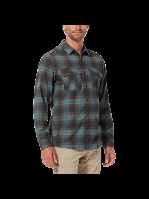 ROYAL ROBBINS Koszula męska LOST COAST FLANNEL PLAID L/S North Atlantic