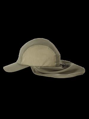 ROYAL ROBBINS Czapka z daszkiem BUG BARRIER CONVERTIBLE SUN CAP Fiddlehead
