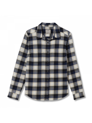 ROYAL ROBBINS Koszula damska LIEBACK ORGANIC COTTON FLANNEL L/S Creme