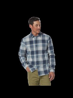 ROYAL ROBBINS Koszula męska TROUVAILLE ORGANIC COTTON PLAID L/S Midnight