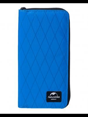 NATUREHIKE Portfel podróżny ZT07 XPAC PASSPORT WALLET blue